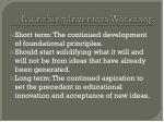 launching inventors workshop