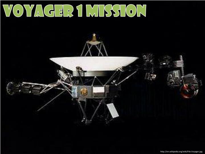 Voyager 1 mission