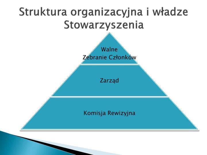 Struktura organizacyjna i władze Stowarzyszenia