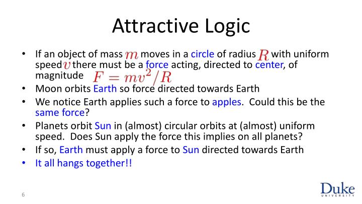 Attractive Logic