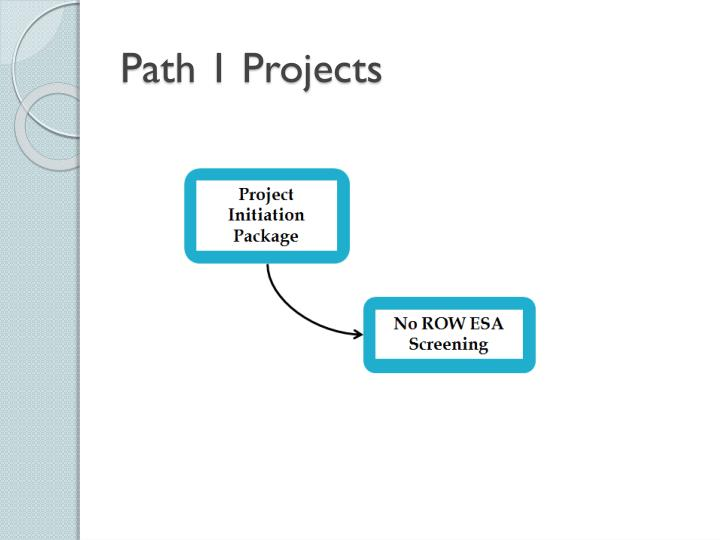 Path 1 Projects