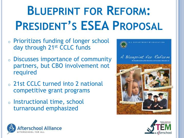 Blueprint for Reform: