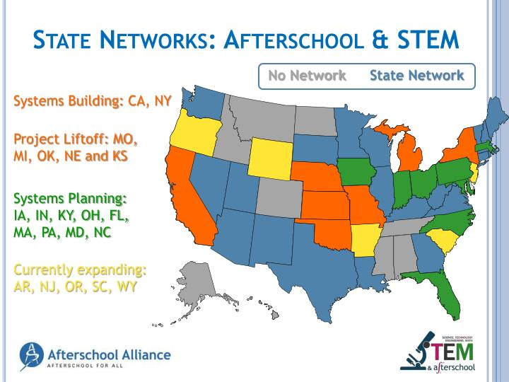 State Networks: Afterschool &