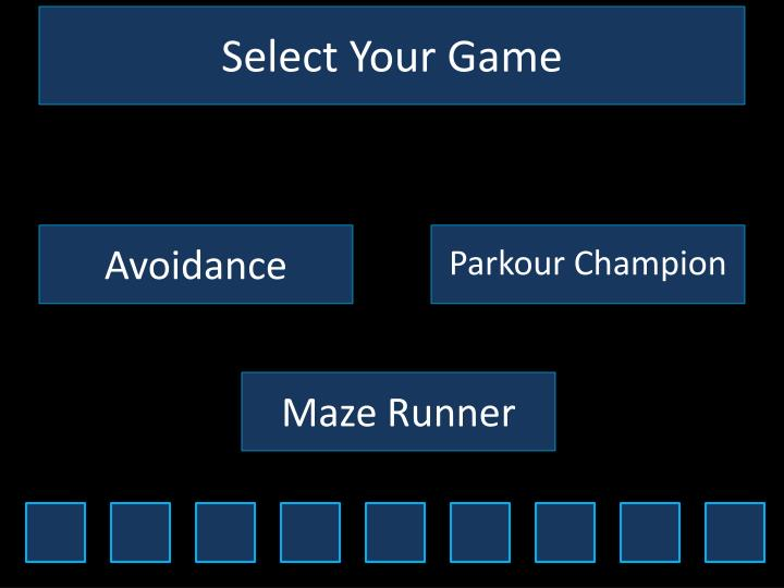 select your game n.