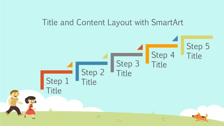 Title and Content Layout with SmartArt