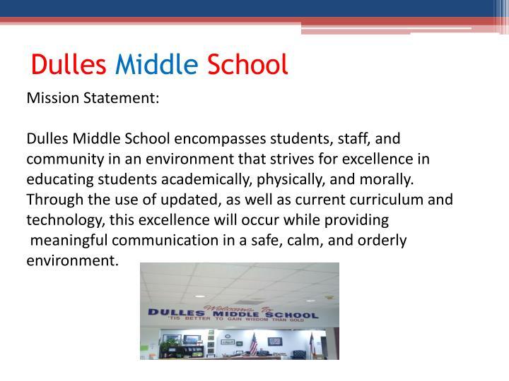 Dulles middle school1