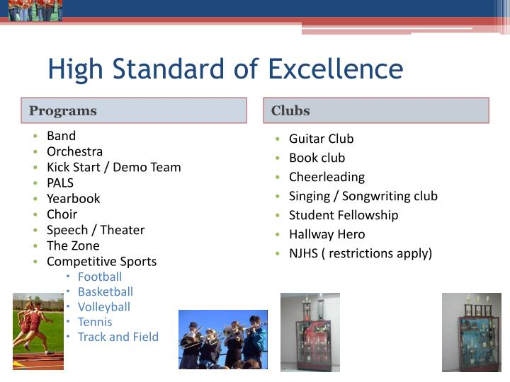 High Standard of Excellence