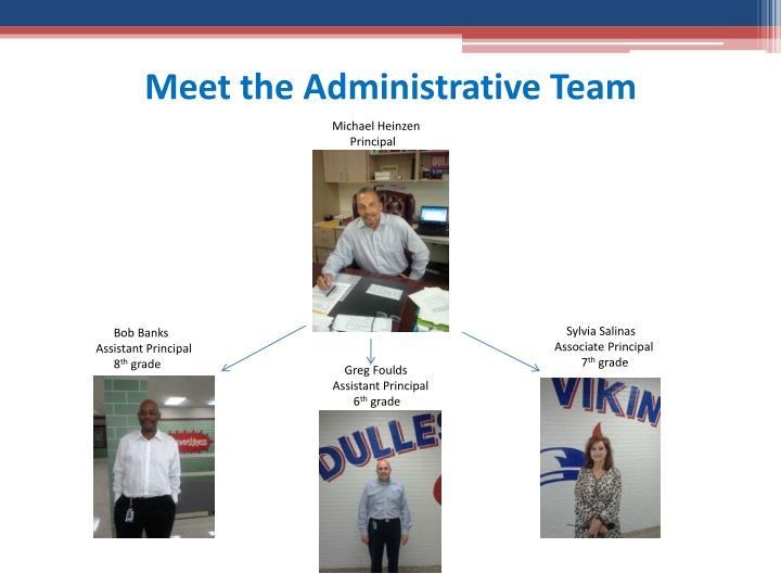 Meet the Administrative Team