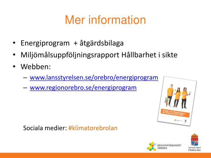 Mer information