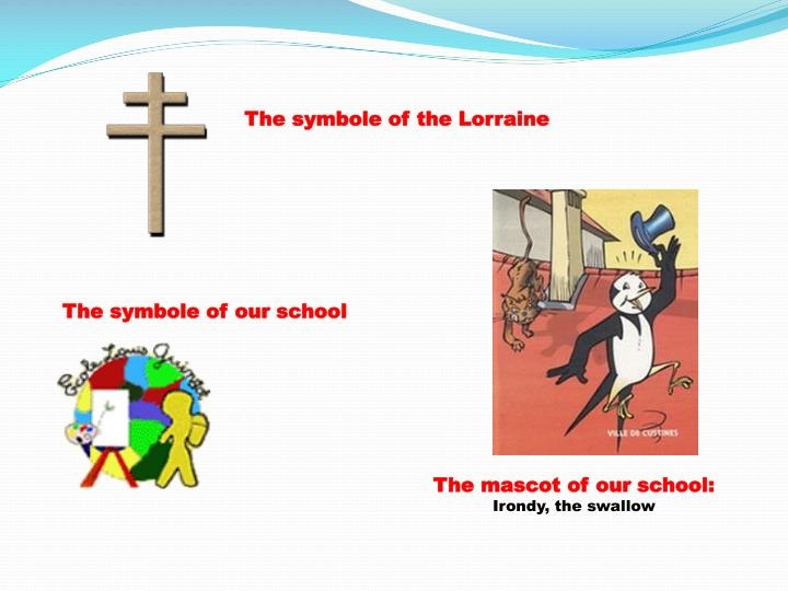 The symbole of the Lorraine