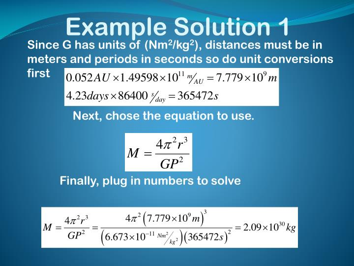 Example Solution 1