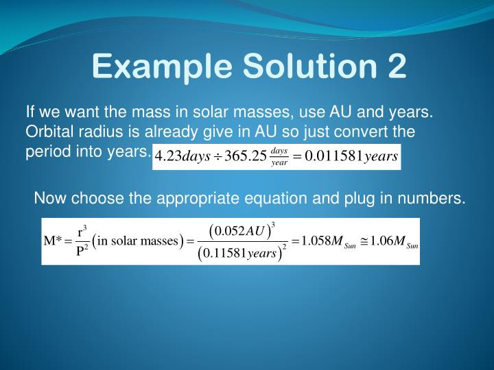 Example Solution 2