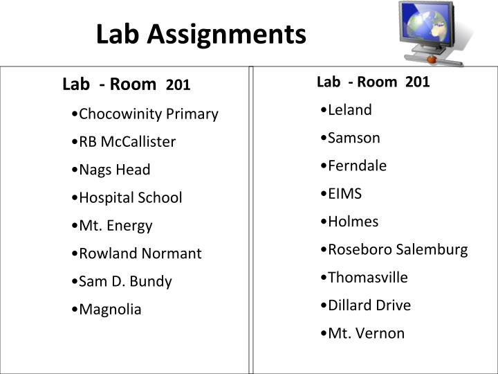 Lab Assignments