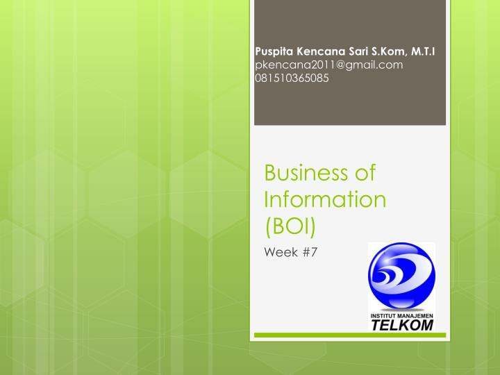business of information boi
