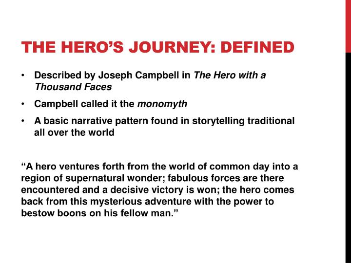 traditional hero definition