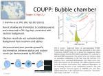 coupp bubble chamber