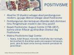 positivisme