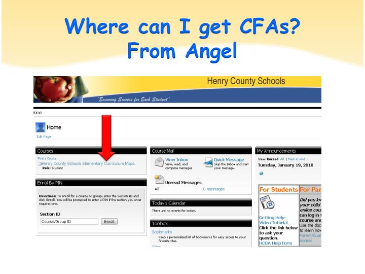 Where can I get CFAs?