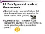 1 2 data types and levels of measurements