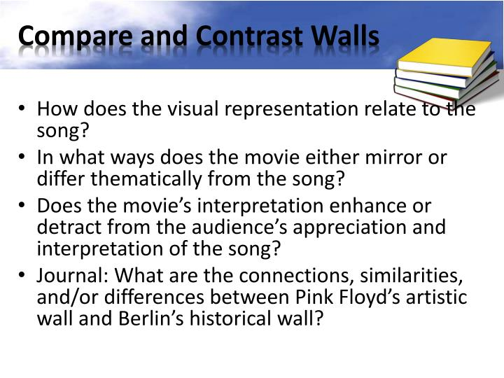 Compare and Contrast Walls