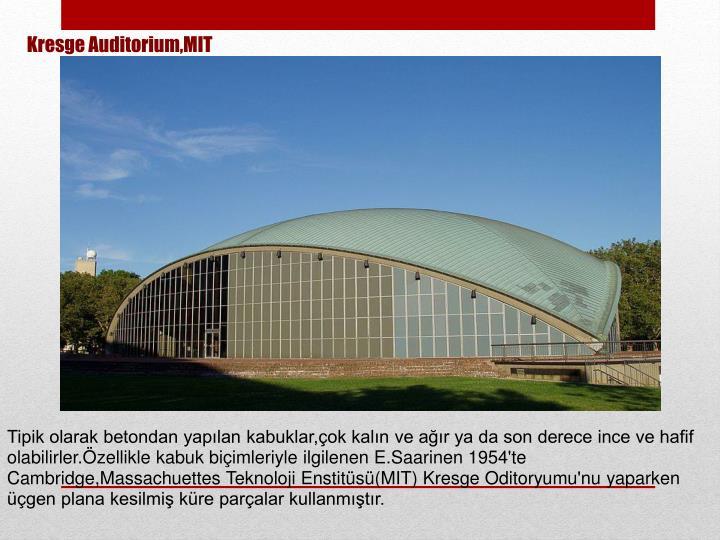Kresge Auditorium,MIT