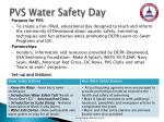 pvs water safety day