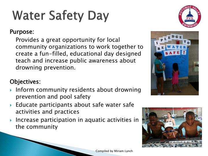 water safety day n.