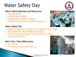 water safety day2