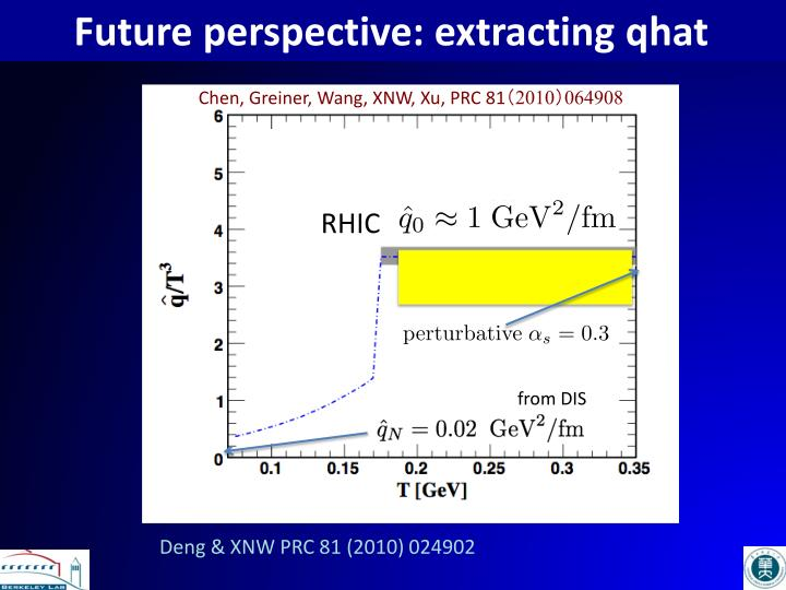 Future perspective: extracting