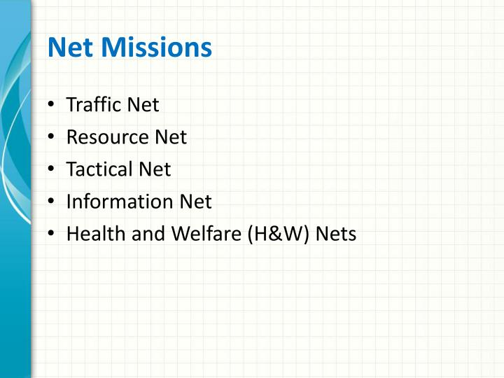 Net Missions