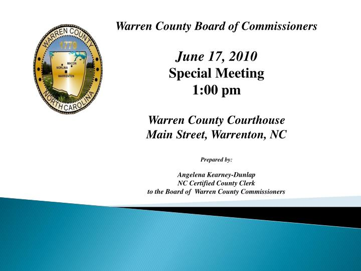 Warren County Board of Commissioners