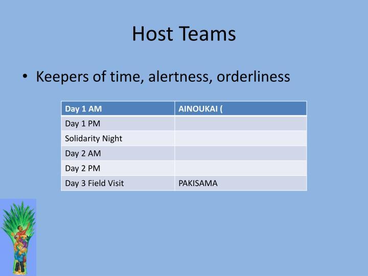 Host Teams