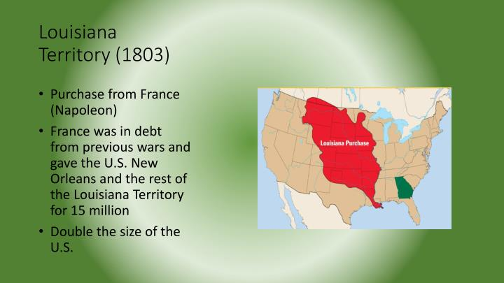 Louisiana Territory (1803)