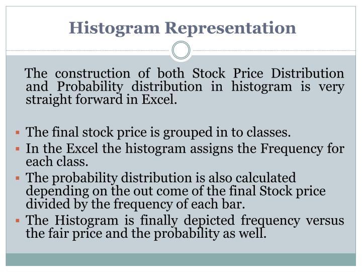 Histogram Representation