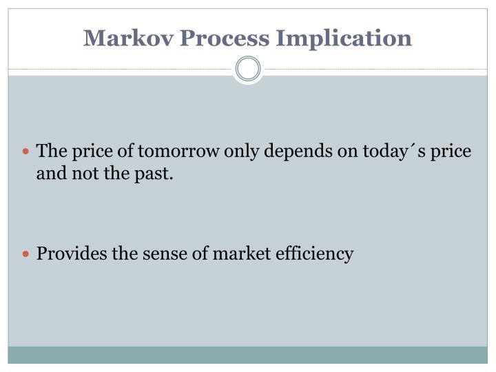 Markov Process Implication