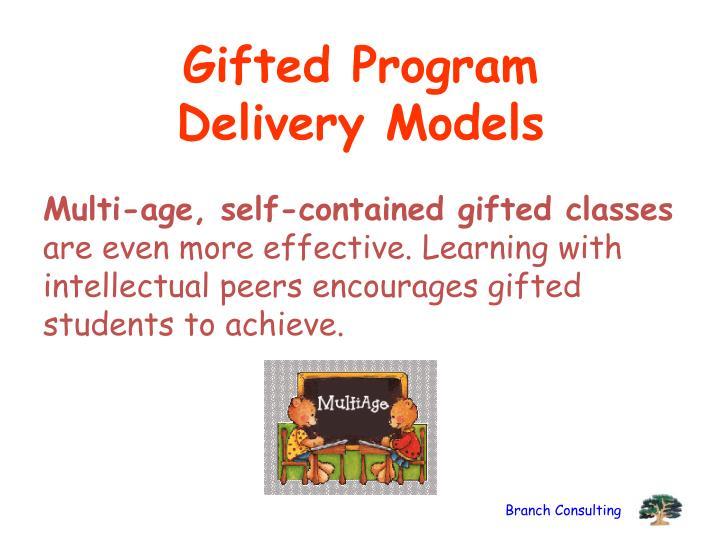 Gifted Program