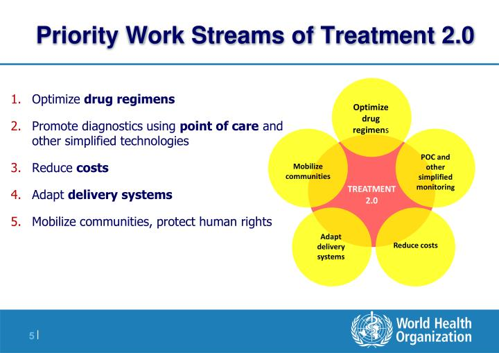 Priority Work Streams of Treatment 2.0