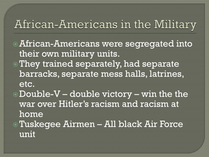 African-Americans in the Military