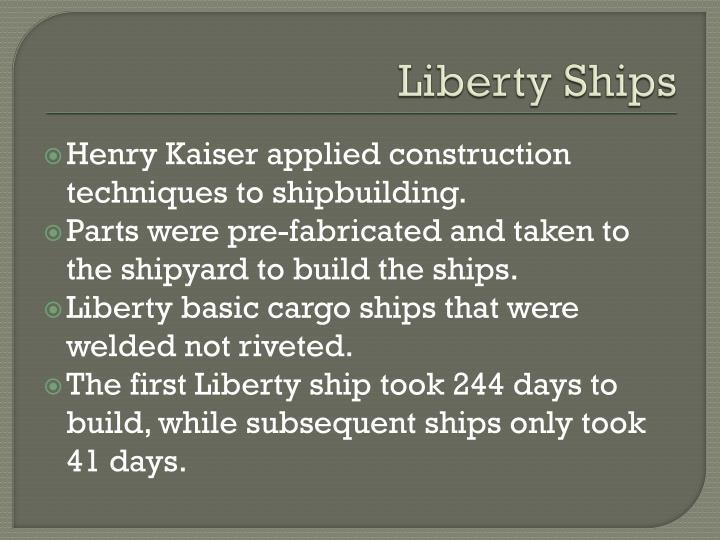 Liberty Ships