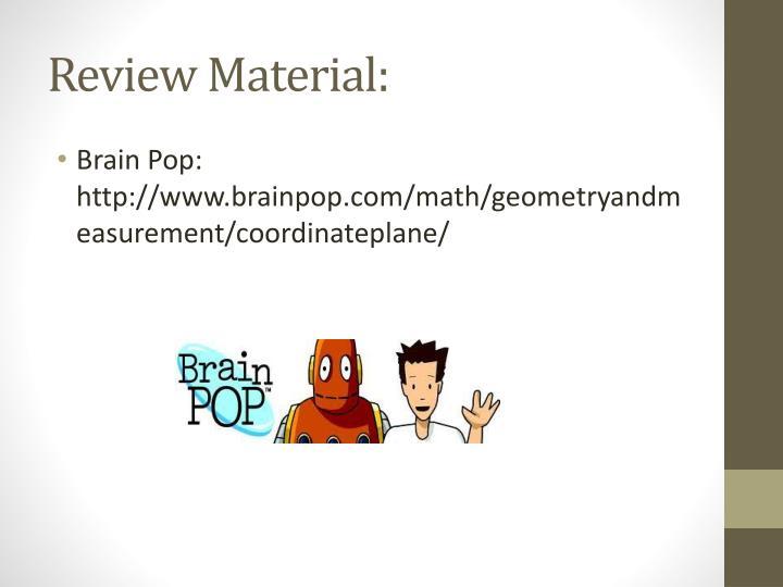 Review Material: