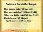 solomon builds the temple1