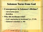 solomon turns from god1