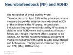 neurobiofeedback nf and adhd1