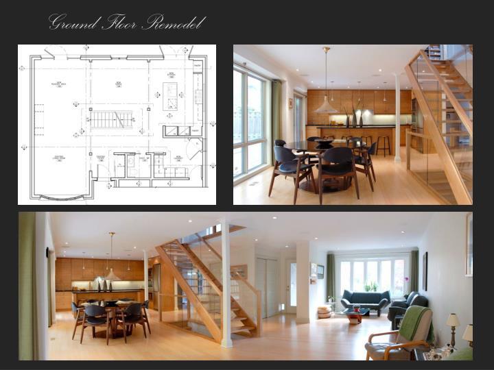Ground floor remodel