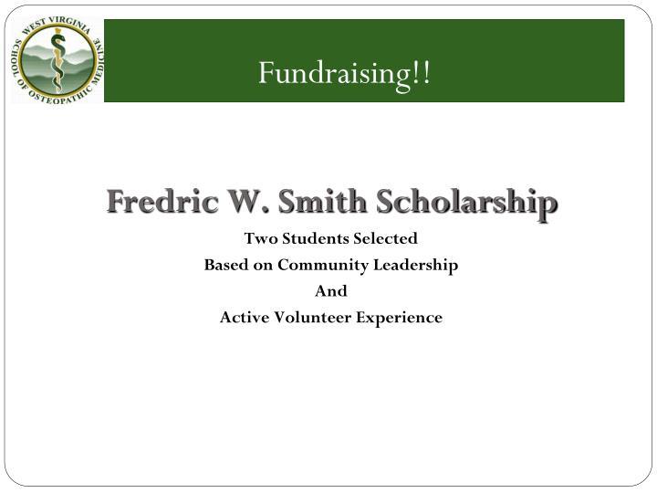 Fundraising!!