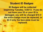 student id badges