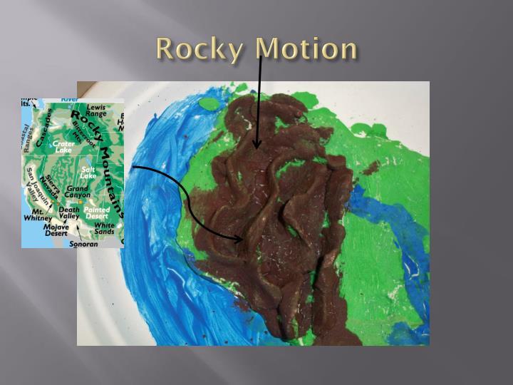 Rocky motion