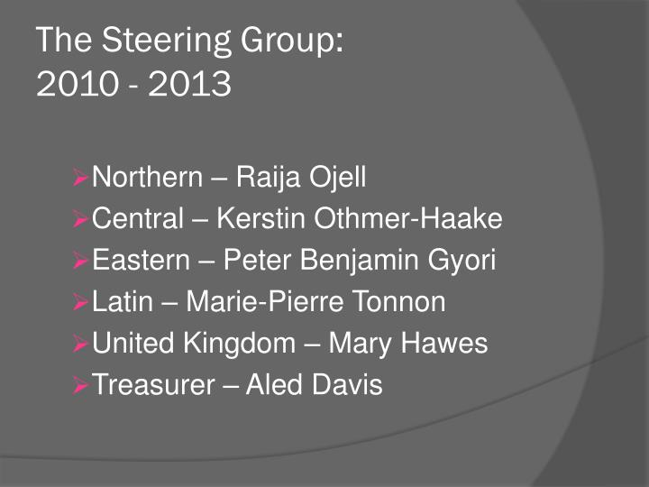The Steering Group: