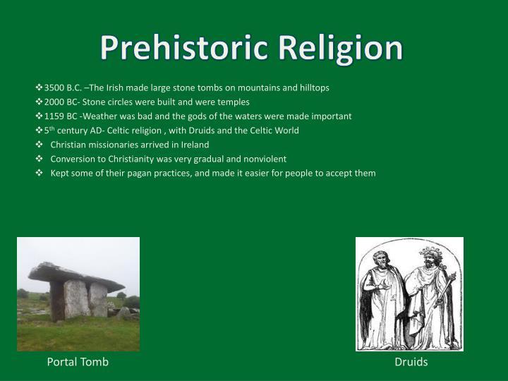 Prehistoric Religion