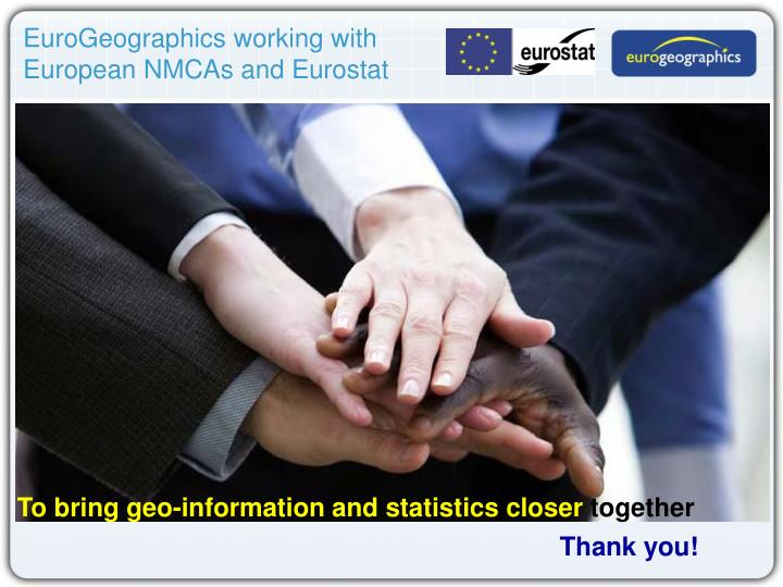 EuroGeographics working with